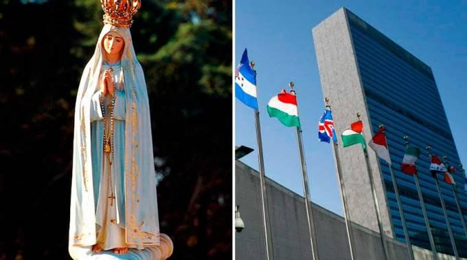 La Virgen de Fátima visitará la sede de la ONU en Nueva York
