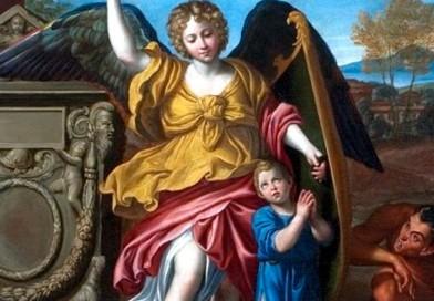 ¿Preocupada por tus hijos? Reza esta oración de una madre a sus ángeles de la guarda