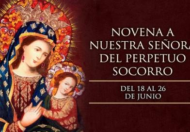 Hoy se inicia la novena en honor a Nuestra Señora del Perpetuo Socorro