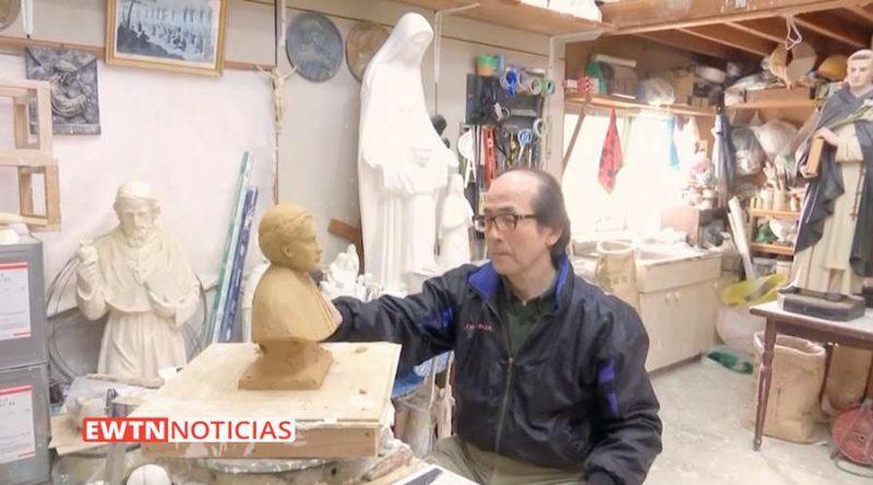 Artista católico japonés: Estoy aquí por mis antepasados asesinados por odio a la fe